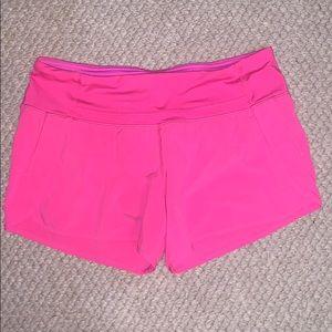 Hot Pink Lululemon shorts!
